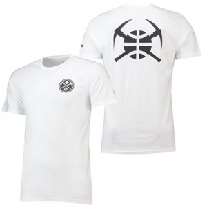 Denver Nuggets New Era Core Dual Logo T-Shirt - Mens