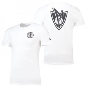 Dallas Mavericks New Era Core Dual Logo T-Shirt - Mens
