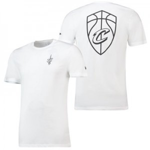 Cleveland Cavaliers New Era Core Dual Logo T-Shirt - Mens