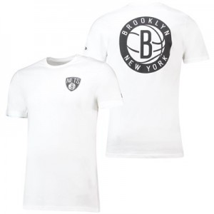 Brooklyn Nets New Era Core Dual Logo T-Shirt - Mens