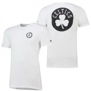 Boston Celtics New Era Core Dual Logo T-Shirt - Mens