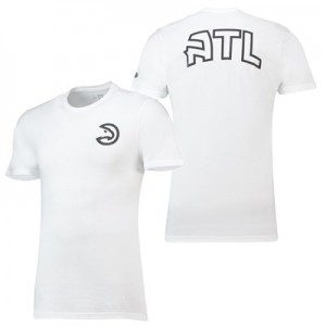 Atlanta Hawks New Era Core Dual Logo T-Shirt - Mens