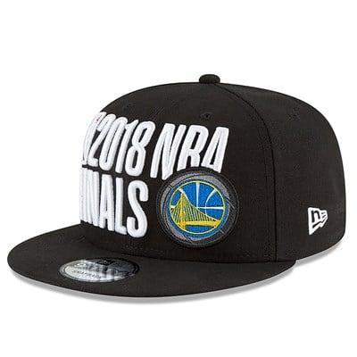 Golden State Warriors New Era The Finals 2018 9FIFTY Locker Room Cap