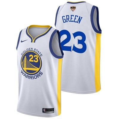 Nike Golden State Warriors Nike Association Swingman Jersey - Finals Patch - Draymond Green - Mens Golden State Warriors Nike Association Swingman Jersey - Finals Patch - Draymond Green - Mens