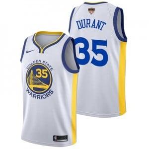 Nike Golden State Warriors Nike Association Swingman Jersey - Finals Patch - Kevin Durant - Mens Golden State Warriors Nike Association Swingman Jersey - Finals Patch - Kevin Durant - Mens