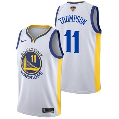 Nike Golden State Warriors Nike Association Swingman Jersey - Finals Patch - Klay Thompson - Mens Golden State Warriors Nike Association Swingman Jersey - Finals Patch - Klay Thompson - Mens