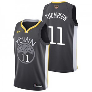 Nike Golden State Warriors Nike Statement Swingman Jersey - Finals Patch - Klay Thompson - Mens Golden State Warriors Nike Statement Swingman Jersey - Finals Patch - Klay Thompson - Mens