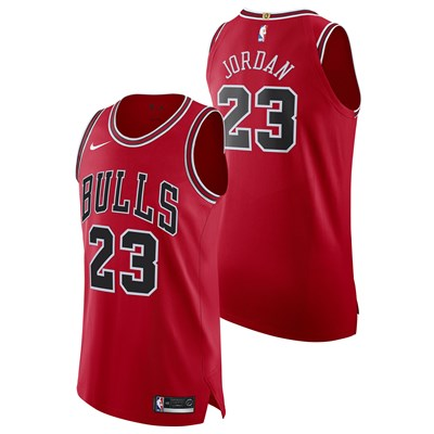 Nike Chicago Bulls Nike Icon Authentic Jersey - Boxed - Michael Jordan - Mens Chicago Bulls Nike Icon Authentic Jersey - Boxed - Michael Jordan - Mens