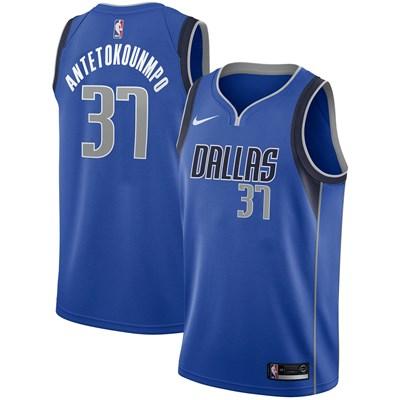 Nike Dallas Mavericks Nike Icon Swingman Jersey - Draft 2nd Round Pick - Kostas Antetokounmpo - Mens Dallas Mavericks Nike Icon Swingman Jersey - Draft 2nd Round Pick - Kostas Antetokounmpo - Mens