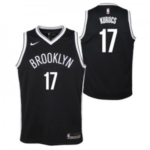 Nike Brooklyn Nets Nike Icon Swingman Jersey - Rodions Kurucs - Youth Brooklyn Nets Nike Icon Swingman Jersey - Rodions Kurucs - Youth