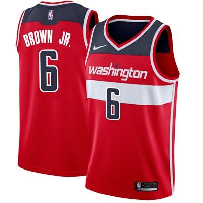 Nike Washington Wizards Nike Icon Swingman Jersey - Troy Brown - Mens Washington Wizards Nike Icon Swingman Jersey - Troy Brown - Mens