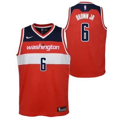 Nike Washington Wizards Nike Icon Swingman Jersey - Troy Brown - Youth Washington Wizards Nike Icon Swingman Jersey - Troy Brown - Youth