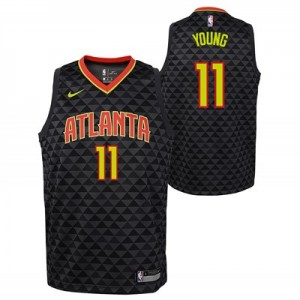 Nike Atlanta Hawks Nike Icon Swingman Jersey -Trae Young - Youth Atlanta Hawks Nike Icon Swingman Jersey -Trae Young - Youth