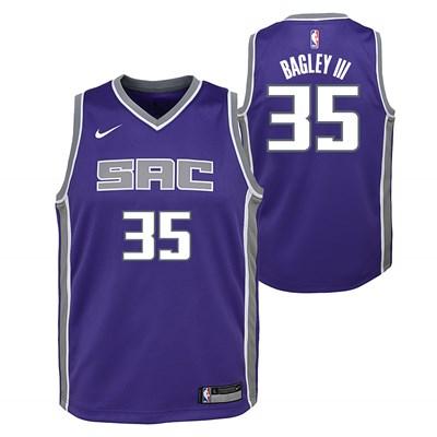 Nike Sacramento Kings Nike Icon Swingman Jersey - Marvin Bagley - Youth Sacramento Kings Nike Icon Swingman Jersey - Marvin Bagley - Youth