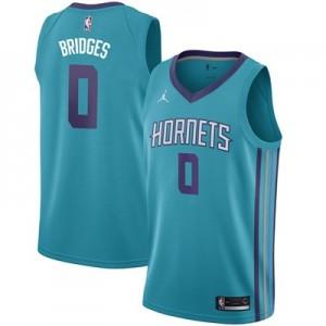 Nike Charlotte Hornets Jordan Icon Swingman Jersey - Miles Bridges - Mens Charlotte Hornets Jordan Icon Swingman Jersey - Miles Bridges - Mens