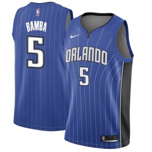 Nike Orlando Magic Nike Icon Swingman Jersey - Mohamed Bamba - Mens Orlando Magic Nike Icon Swingman Jersey - Mohamed Bamba - Mens