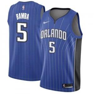 Nike Orlando Magic Nike Icon Swingman Jersey - Mohamed Bamba - Mens Orlando Magic Nike Icon Swingman Jersey - Mohamed Bamba - Mens