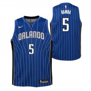Nike Orlando Magic Nike Icon Swingman Jersey - Mohamed Bamba - Youth Orlando Magic Nike Icon Swingman Jersey - Mohamed Bamba - Youth