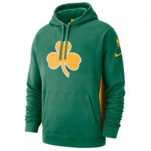 Boston Celtics Nike Earned Edition Courtside Hoodie - Mens
