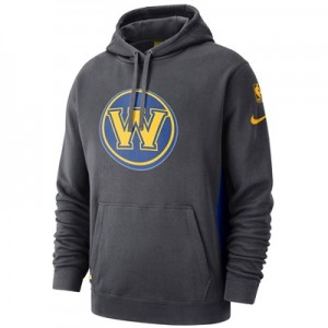 Golden State Warriors Nike Earned Edition Courtside Hoodie - Mens
