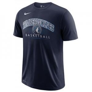Minnesota Timberwolves Nike Crest Logo T-Shirt - College Navy - Mens
