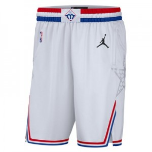 NBA Jordan All-Star 2019 White Short - Mens