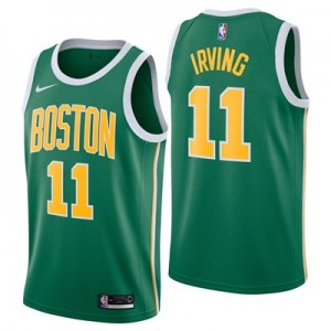 Nike Boston Celtics Nike Earned Edition Swingman Jersey - Kyrie Irving - Mens Boston Celtics Nike Earned Edition Swingman Jersey - Kyrie Irving - Mens