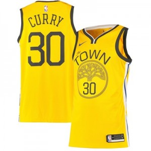 Nike Golden State Warriors Nike Earned Edition Swingman Jersey - Stephen Curry - Mens Golden State Warriors Nike Earned Edition Swingman Jersey - Stephen Curry - Mens