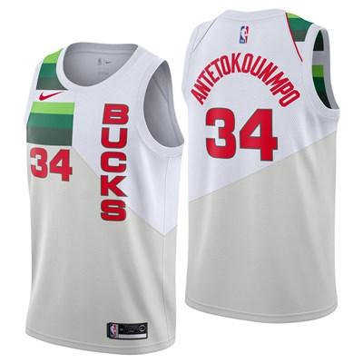 Nike Milwaukee Bucks Nike Earned Edition Swingman Jersey - Giannis Antetokounmpo - Mens Milwaukee Bucks Nike Earned Edition Swingman Jersey - Giannis Antetokounmpo - Mens