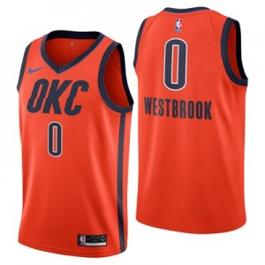 Nike Oklahoma City Thunder Nike Earned Edition Swingman Jersey - Russell Westbrook - Mens Oklahoma City Thunder Nike Earned Edition Swingman Jersey - Russell Westbrook - Mens