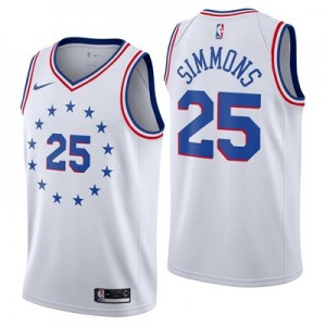 Nike Philadelphia 76ers Nike Earned Edition Swingman Jersey - Ben Simmons - Mens Philadelphia 76ers Nike Earned Edition Swingman Jersey - Ben Simmons - Mens