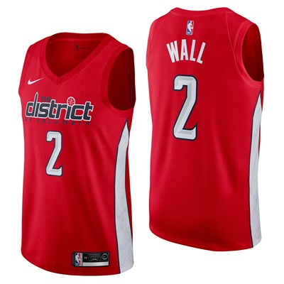 Nike Washington Wizards Nike Earned Edition Swingman Jersey - John Wall - Mens Washington Wizards Nike Earned Edition Swingman Jersey - John Wall - Mens