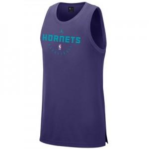 Charlotte Hornets Nike Elite Practise Tank - Mens