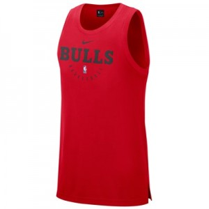 Chicago Bulls Nike Elite Practise Tank - Mens