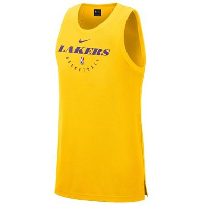 Los Angeles Lakers Nike Elite Practise Tank - Mens