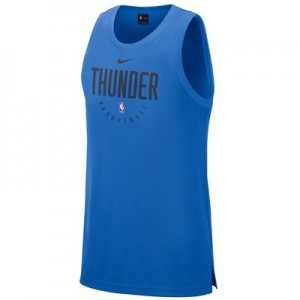 Oklahoma City Thunder Nike Elite Practise Tank - Mens