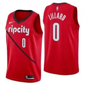 Nike Portland Trail Blazers Nike Earned Edition Swingman Jersey - Damian Lillard - Mens Portland Trail Blazers Nike Earned Edition Swingman Jersey - Damian Lillard - Mens