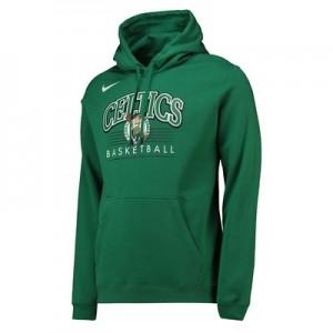 Boston Celtics Nike Crest Logo Hoodie - Clover - Mens