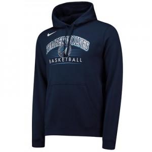 Minnesota Timberwolves Nike Crest Logo Hoodie - College Navy - Mens