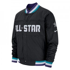 NBA Jordan All-Star 2019 Courtside Jacket - Black - Mens