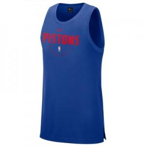 Detroit Pistons Nike Elite Practise Tank - Mens