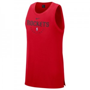 Houston Rockets Nike Elite Practise Tank - Mens