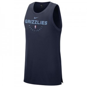 Memphis Grizzlies Nike Elite Practise Tank - Mens