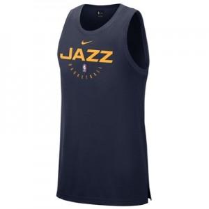 Utah Jazz Nike Elite Practise Tank - Mens