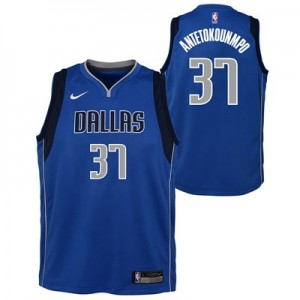 Nike Dallas Mavericks Nike Icon Swingman Jersey - Draft 2nd Round Pick - Kostas Antetokounmpo - Youth Dallas Mavericks Nike Icon Swingman Jersey - Draft 2nd Round Pick - Kostas Antetokounmpo - Youth