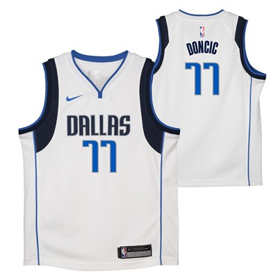 Nike Dallas Mavericks Nike Association Swingman Jersey - Luka Doncic - Youth Dallas Mavericks Nike Association Swingman Jersey - Luka Doncic - Youth