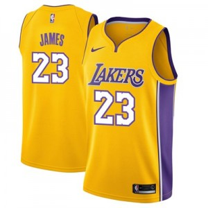 Nike Los Angeles Lakers 2017 Nike Icon Swingman Jersey - LeBron James - Mens Los Angeles Lakers 2017 Nike Icon Swingman Jersey - LeBron James - Mens
