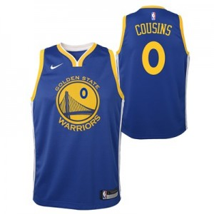 Nike Golden State Warriors Nike Icon Swingman Jersey - DeMarcus Cousins - Youth Golden State Warriors Nike Icon Swingman Jersey - DeMarcus Cousins - Youth