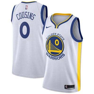 Nike Golden State Warriors Nike Association Swingman Jersey - DeMarcus Cousins - Mens Golden State Warriors Nike Association Swingman Jersey - DeMarcus Cousins - Mens