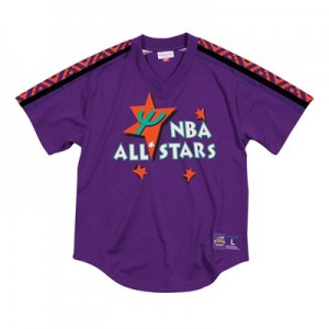 NBA 1996 All-Star Mesh V-Neck Top By Mitchell & Ness - Mens